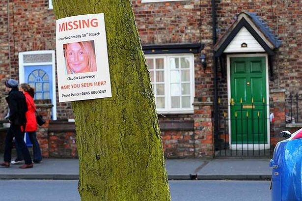 Ongoing searches have previously taken place at Miss Lawrence's home