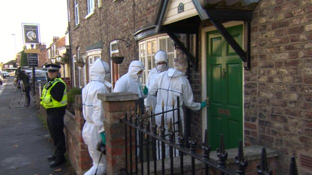 Fresh evidence was obtained during forensic examination of Miss Lawrence's home