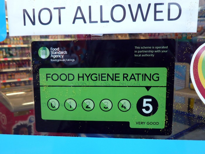 (Credit: Everydaylife.style) Local restaurants in York were recently given their 'Scores on the Doors' ratings