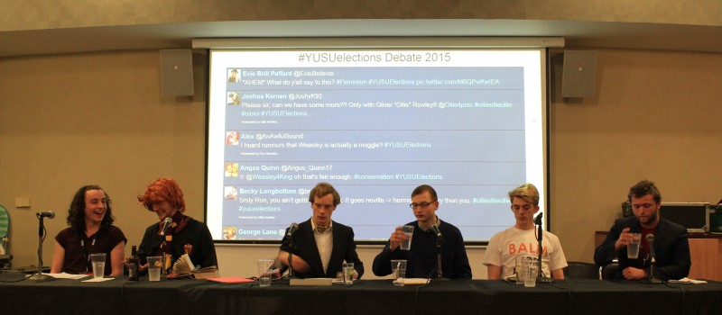All-male YUSU Presidential candidate lineup