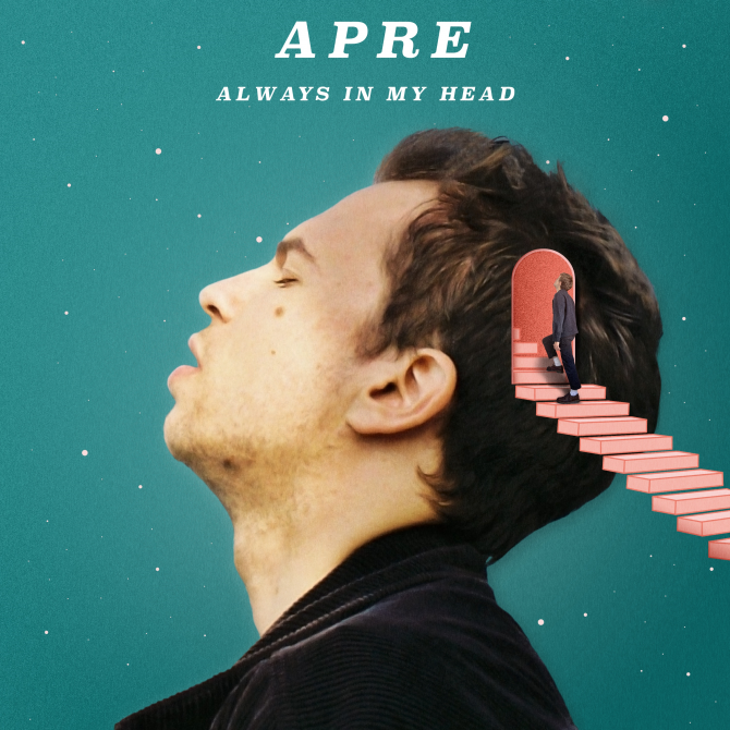The album cover for APRE's new release 'Always In My Head'