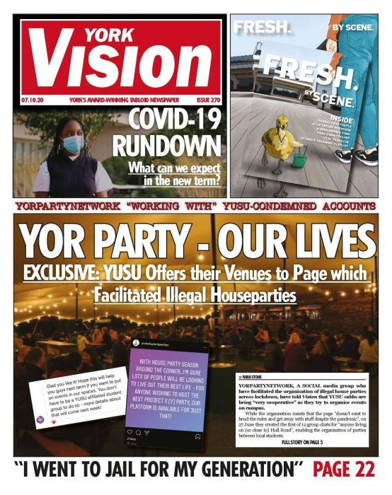 The front cover of edition 270 of York Vision.